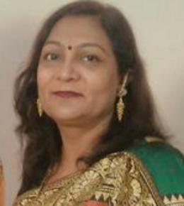 B.SC honours, MA political science B.Ed. from Delhi University